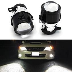 iJDMTOY  OEM Replace Projector Fog Light Housings For 08-14