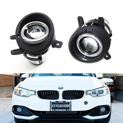iJDMTOY  OEM Replace Projector Fog Light Housings For BMW F2