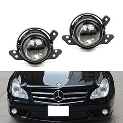 iJDMTOY  OEM Replace Projector Fog Light Housings For Merced