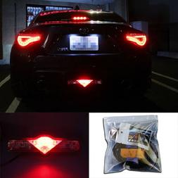 iJDMTOY Super Red 3rd LED Brake Light DIY Conversion Kit For