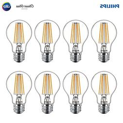 Philips LED 469734 60 Watt Equivalent Clear Glass A19 Dimmab