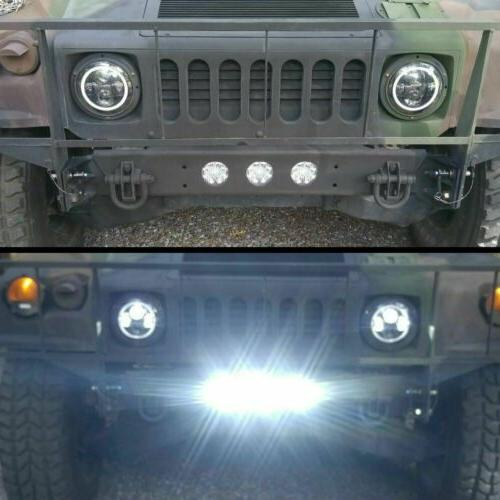 4x LED Work SPOT Offroad Fog 12V