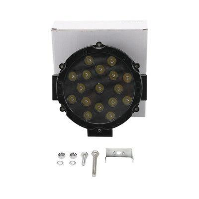 2X 7inch Slim LED Work 4WD Fog