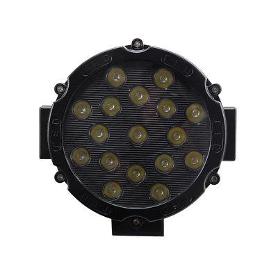 2X 51W LED Light 4WD Fog