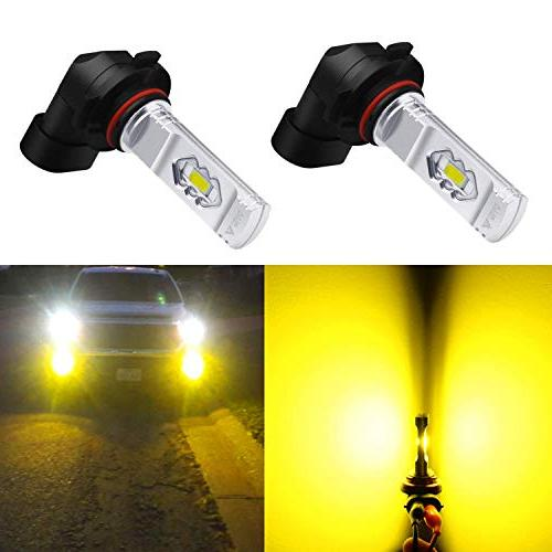 9145 h10 led fog light bulbs 3800lm