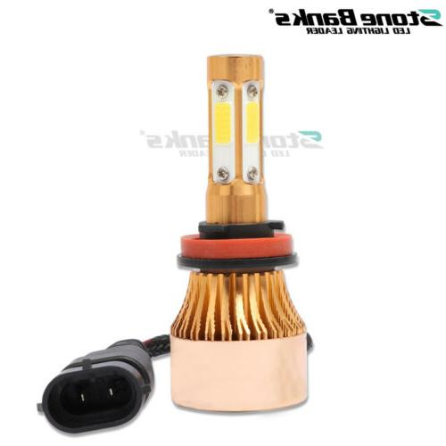 4-Side H8 H9 LED Low Yellow 2000W