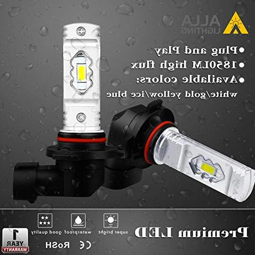 Alla Lighting 9145 LED Bulbs 3800lm H10 Bulbs 9145 ETI 56-SMD 9145 Auto 9045 H10 9145 Fog Light