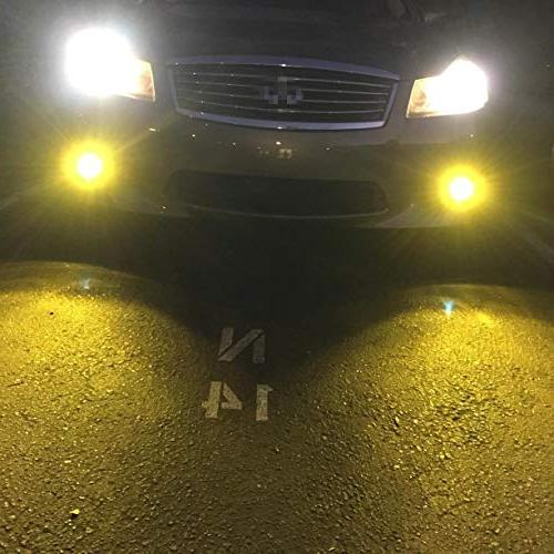 Alla Lighting Super Bulbs Fog Lights - Amber