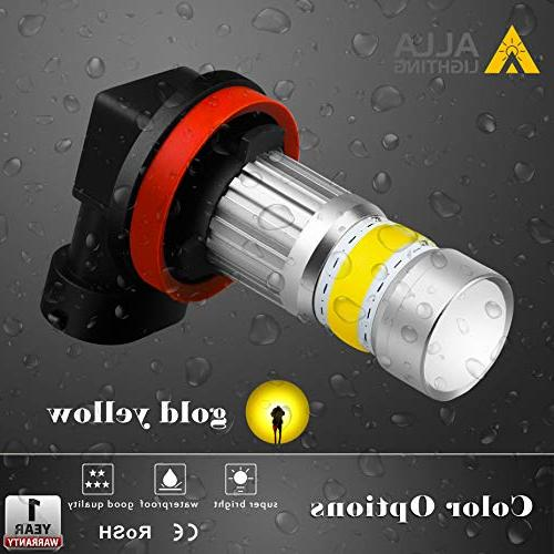 Alla Lighting Xtreme Super Bulbs Fog Illumination COB-72 Bulb H8 Fog Lamp Replacement -