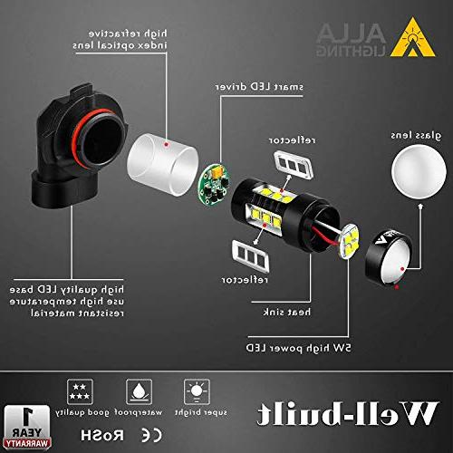 Alla Extreme Super Bright LED Fog Light Power 80W LED H111 Fog Light Lamp White