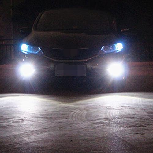 Alla Lighting Lumens High Power Super Extremely Bright White H8 for Fog Light Replacement