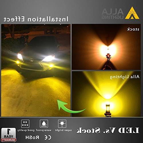 Alla Lighting Bright H11 LED 2000 3030-SMD H11 3000K H16 H11 H11 Fog Lamp