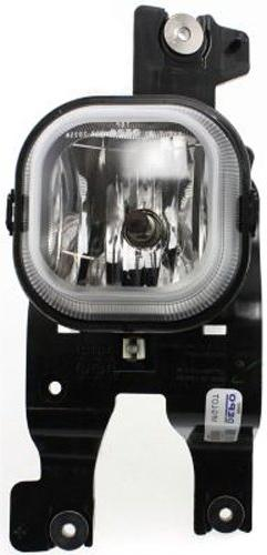 Crash Parts Plus Passenger Side Clear Lens Fog Light for 08-