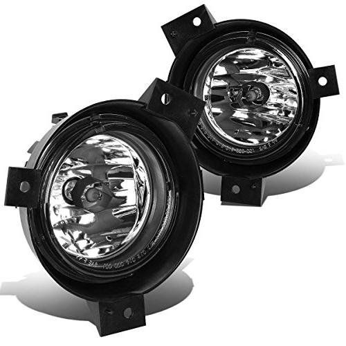 DNA MOTORING FL-NS012-CH Front Bumper Fog Light