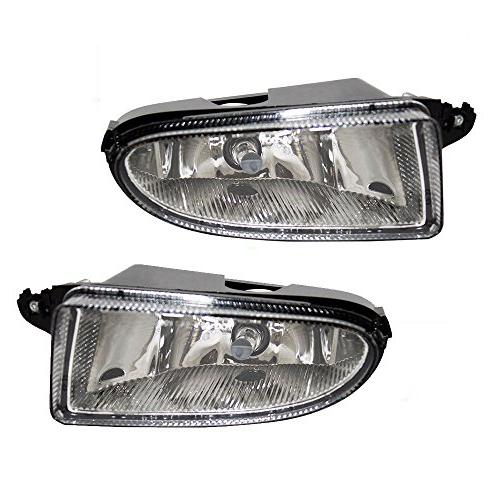 Driver and Passenger Fog Lights Lamps Replacement for Chrysl