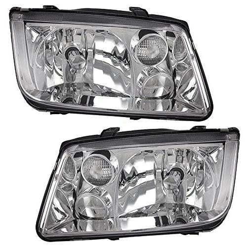 Driver and Passenger Headlights Headlamps Replacement for Vo