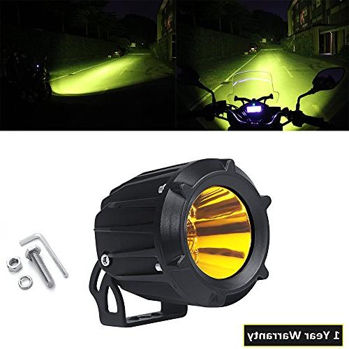 Flood Spot Work Light 25W Combo Beam 3000K Amber Led Driving