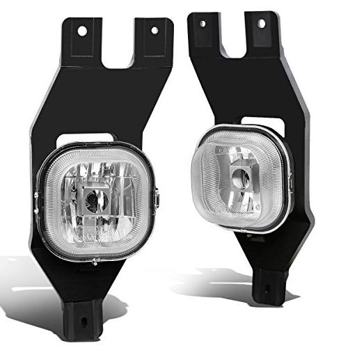 For Ford Super Duty/Excursion Pair of Bumper Driving Fog Lig