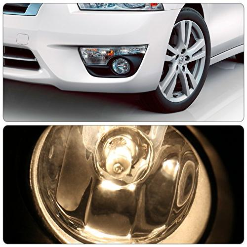 For Nissan Lens Lights Driving Lamps Left/Right Pair Set