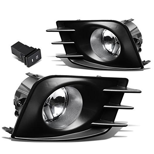 Scion tC Pair of Bumper Driving Fog Lights + Bezel + Wiring