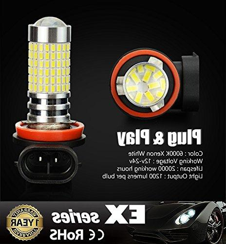 JDM Lumens Extremely Bright H11 Bulbs for DRL or Fog