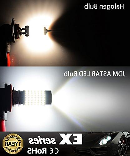 JDM Extremely Bright H11 Bulbs with DRL Xenon