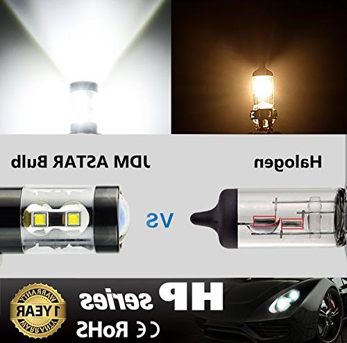 Xenon White Jdm Astar Extremely Bright Max 50w High Power 5202 5201 Ps19w Led Fog Light Bulbs For Drl Or Fog Lights Domeikavos Vila Lt