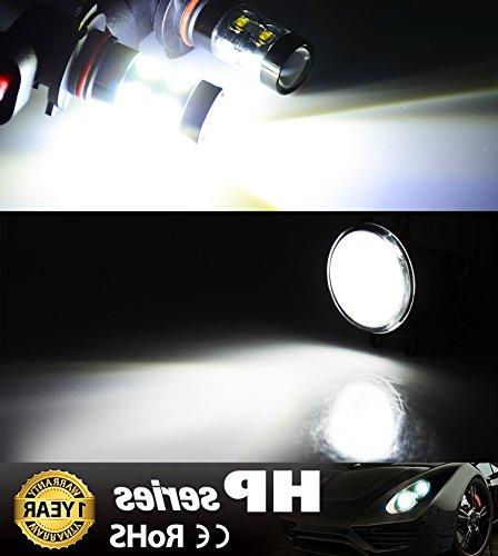 JDM Bright Max 50W High H10 Light DRL or Fog Lights, White