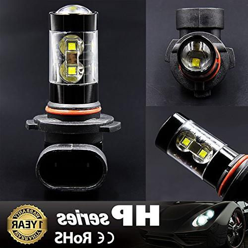 JDM Max H10 LED Light Bulbs for or White