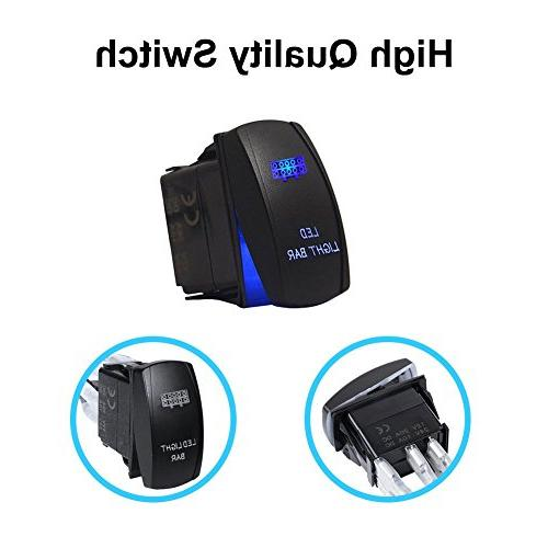Liteway One-To-Two Light Kits Relay Blue Switch Weatherproof