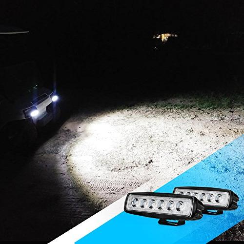 Nilight 2PCS Fog Lights driving lights Led SUV Jeep years Warranty