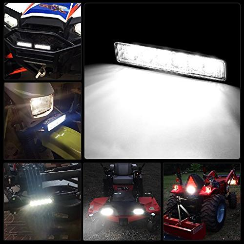 Nilight Led 2PCS Driving Lights Boat Lights lights SUV Jeep Lamp,2 years Warranty
