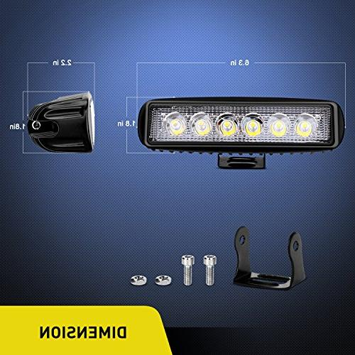 Nilight 2PCS Fog Off Lights lights Led SUV Warranty