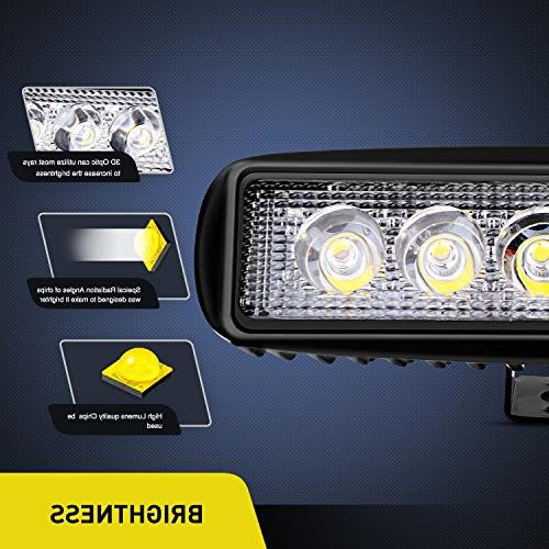 Nilight Led Bar 2PCS Fog Light Off Lights Lights driving lights SUV Jeep Warranty