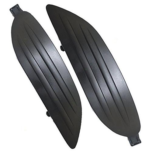Pair Set Fog Light Lamp Lens Covers Replacement for Toyota C