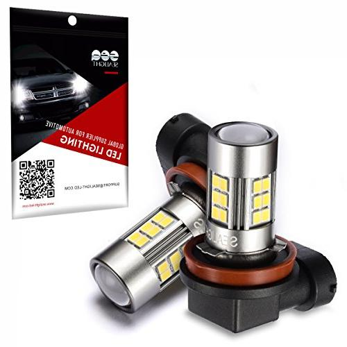 SEALIGHT H11/H8 Fog LED Lamps Approved, Cool