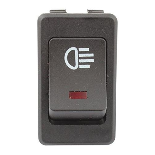 TOMALL Replacement Fog Light Toggle Switch Red