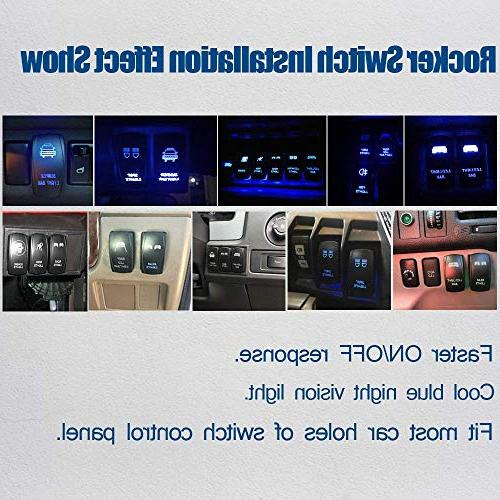 """TURBOSII 50"""" Curved Light Offroad w/ 4"""" Pods Cube Auxiliary light Lamp On Windshield Roof Jeep Wrangler Tahoe GMC ATV"""