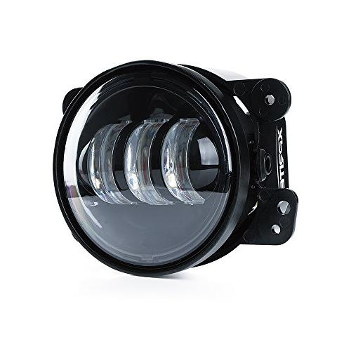 Xprite 2 Inch 4800LM Fog for LJ Tractor Fog Led Headlight Lamp