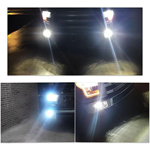 YITAMOTOR High Power Chipsets LED Driving Lights Lamp Lumen 6000k HID White Projection Bulb