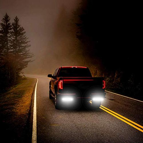 YITAMOTOR 2PCS 6 Flood Work Road Light Light Waterproof 4WD Cart 12V 2 Year