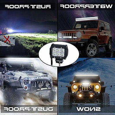 Nilight 2 X 18w 1260lm LED Beam 60 Light Led Light Bar