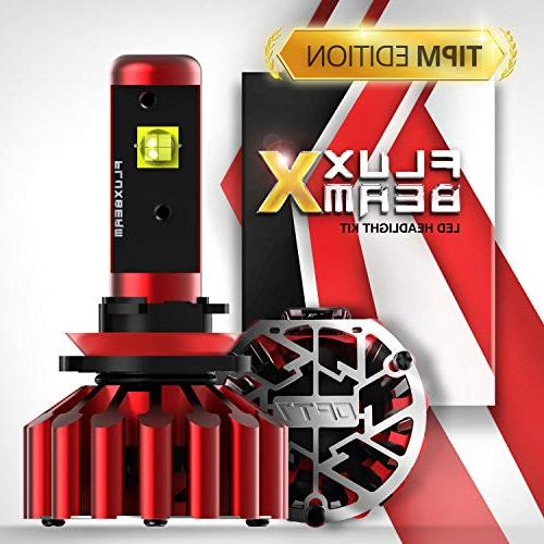 fluxbeam x h11 led headlight bulbs tipm