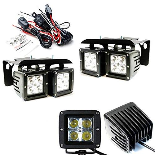 iJDMTOY LED Fog/Driving Lamp Kit For 2007-2014 Chevy Silvera