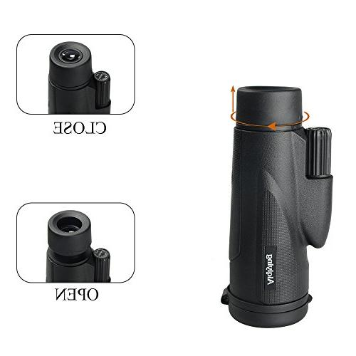 Monocular Dual Low Night Vision Spotting Scopes with Cell Adapter Hunting, Camping,Travelling, Hiking