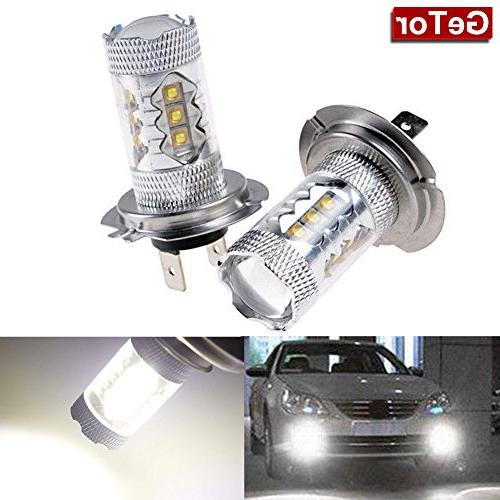 power white h7 cree bulbs