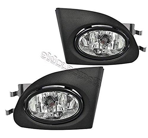 Fit For 2002 2003 2004 2005 Civic Si Hatchback 3-Door EP3 Model Clear Fog Light Kit HD195 FL7040 RP Remarkable Power
