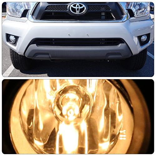 AJP For Toyota Tacoma Lights Front Driving Bezel Replacement Upgrade 2012 2014 2015 12 14 15