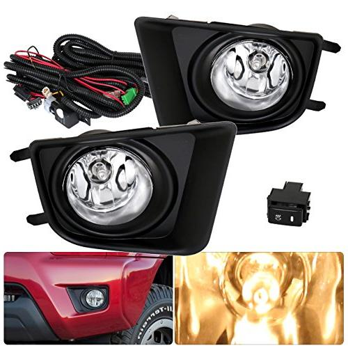 toyota tacoma fog lights lamps front