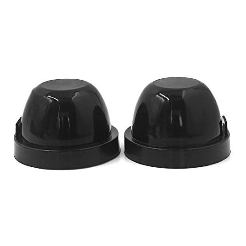 uxcell 2 Pcs 80mm Inner Diameter Rubber Seal Cap Dust Cover